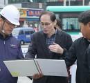 의왕시, 주요 공사현장 점검 정의돌 …